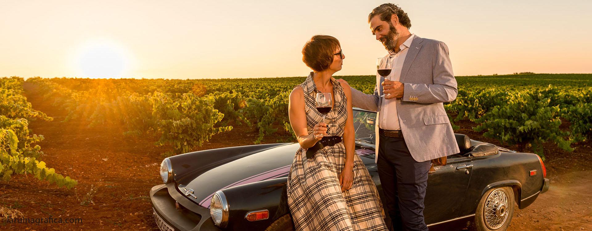 Romanticismo entre viñedos